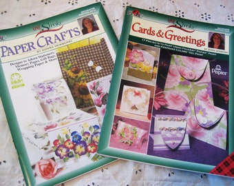 FREE U.S. SHIPPING! - Donna Dewberry Paper Crafting Project Books - 2 Titles