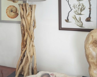Lamp TWIST Driftwood Lamp