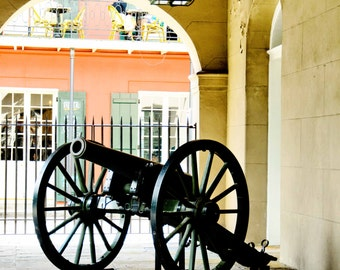 Canon at the Cabildo in New Orleans