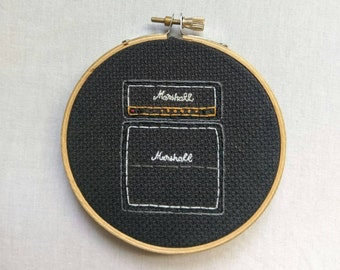 Embroidered Marshall JCM800 Guitar Amplifier