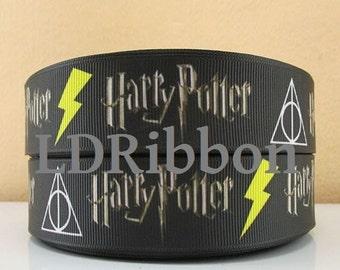 "1"" Wizard Inspired Grosgrain Ribbon"
