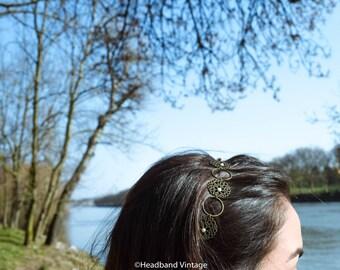 """Vintage Headband / head jewel  """"Marion"""""""
