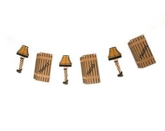 Leg Lamp | Banner w/ eyelets