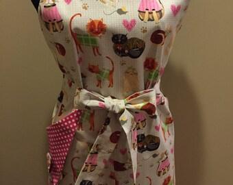 Cat lovers apron