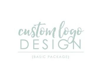 Custom Logo Design, One of a Kind Basic Logo Package