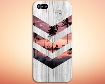 California Palm Tree Sunset Phone Case, iPhone 7, iPhone 7 Plus, Rubber iPhone Case, Galaxy s8 Samsung Galaxy Case Note 5 Nature CASE ESCAPE