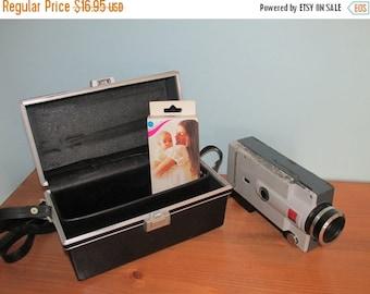 ON SALE NOW Vintage Kodak Instamatic M6 Movie Camera Super 8