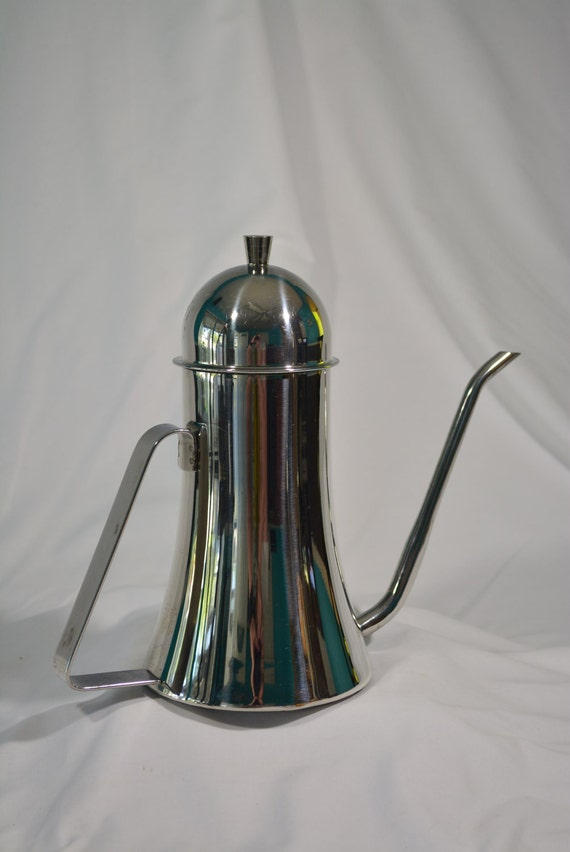 Modern Italian Coffee Maker : Unique Teapot Chrome Teapot Italian Teapot Made in Italy