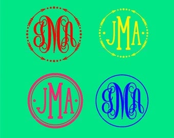 Monogram for cell phone