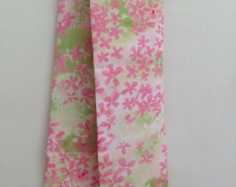 Pink floral Neck cooler, cooling neck wrap, coolIng scarf, hot flash relief scarf
