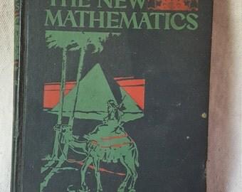 Vintage Math Textbook, 1934