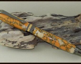Leopard Skin Jasper Pen