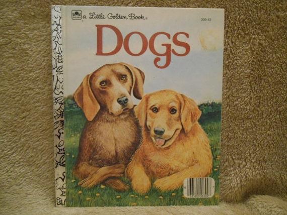 Un pequeño libro de oro Perros por Jean Lewis Illus por