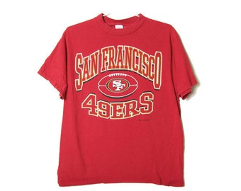 Vintage 90s San Francisco 49ers Tee - 1996 - NFL - Football - California -  Vintage Sports - Sportswear - Mens - Womens -