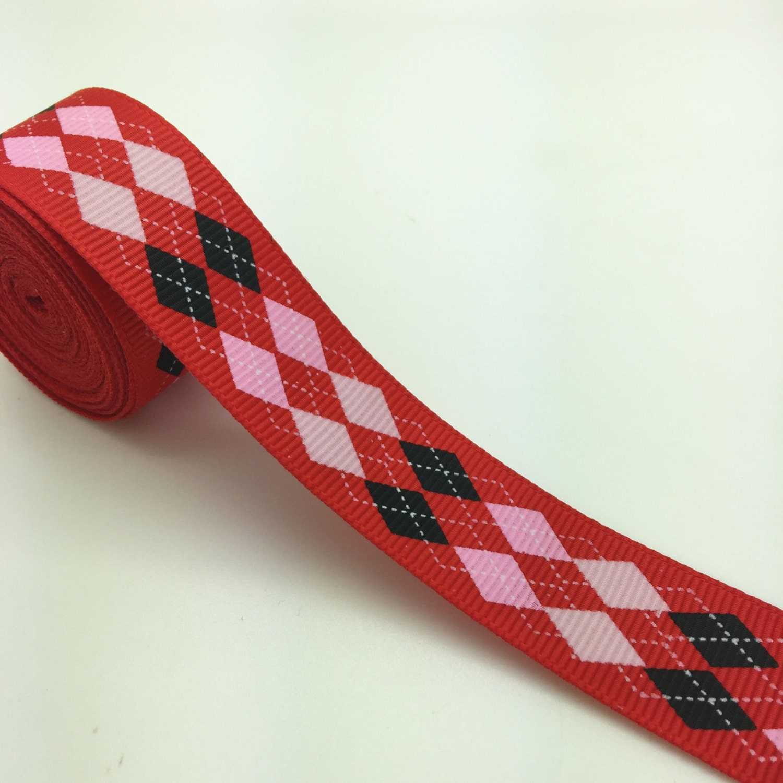 1 Quot 25mm Printed Grosgrain Ribbon Hair Bow Ribbon Bow