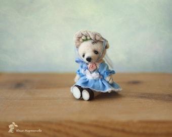tiny bear 7,5cm,made to order 11 days