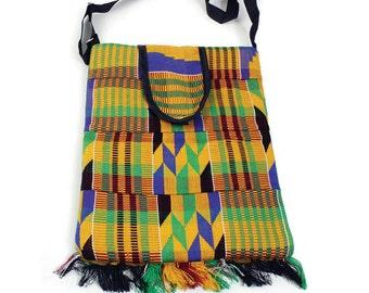 African Kente Cloth Bag