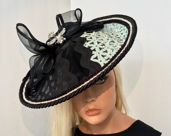 Mint Green Kentucky Derby Fascinator Hat