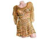 See through top, Transparent summer top, Thin womens shirt, Elegant summer shirt, Knit crochet top, See through shirt, Womens knit top
