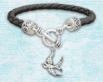 Sparrow Leather Bracelet - 51614