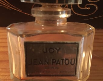 Vintage Jean Patou Perfume Bottle - Joy