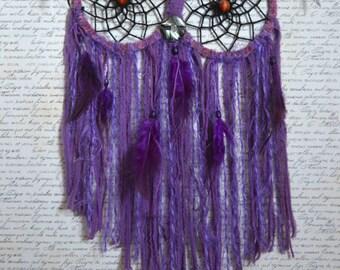 dream catcher purple owl