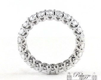 U-Prong Open Gallery Eternity Band 2.20tvw