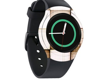 Skin Decal Wrap for Samsung Gear S2, S2 3G, Live, Neo S Smart Watch, Galaxy Gear Fit cover sticker Vintage Blocks