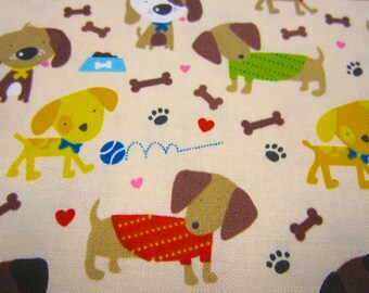 Dog Cotton Fabric Called Rover Designed by Bella Blvd for Riley Blake Designs