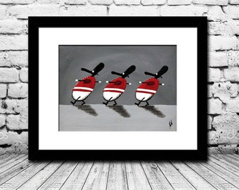 """""""Roy-ewe Guards"""" (Limited Edition Print)"""