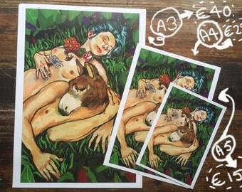 Midsummernight's dream art print