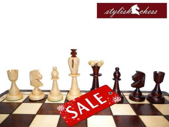 Items Similar To Sale Beautiful Wooden Chess Set