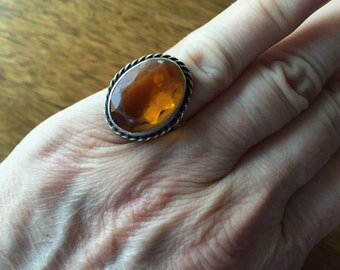 Yellow Stone Ring -- 109