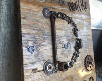 Nuts And Bolts Decor Etsy