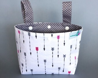 Small pram caddy / pram organiser / stroller bag