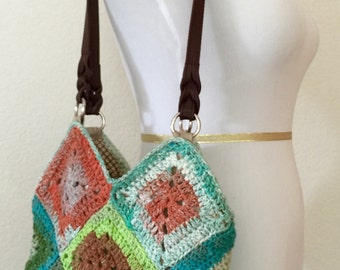 Hand-crochet Shoulder Bag