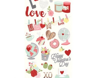 Valentines stickers