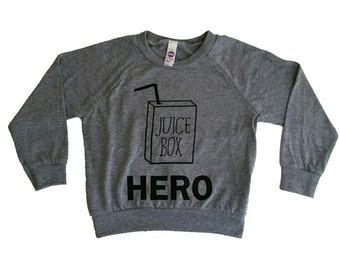 Little Gypsy Finery Juice Box Hero kids pullover sweater for the tiny trendy tot