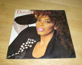 Donna Summer RECORD SLEEVE uk pressing 1989