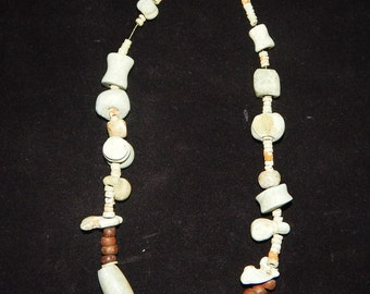 Pre-Columbian Jade Beaded Necklace