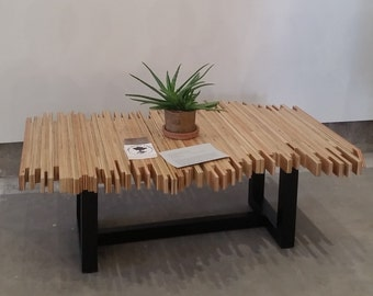 Pandemonium Coffee Table - 100% recycled wood
