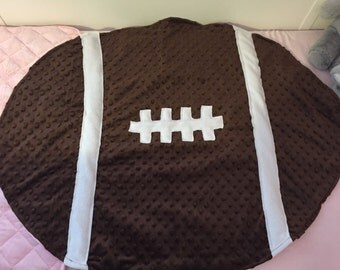 College Football Baby Blanket