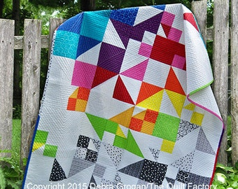 Falling Blocks Downloadable Quilt Pattern