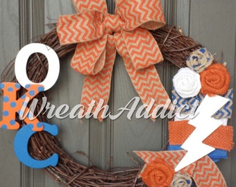 OKC Thunder wreath