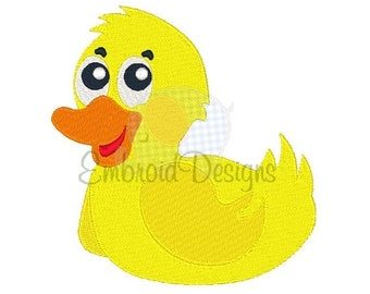 Duck Machine Embroidery Design 011414 Embroidery Duck Filled stitch 4X4 5X7 8X8 6X10 Instant download