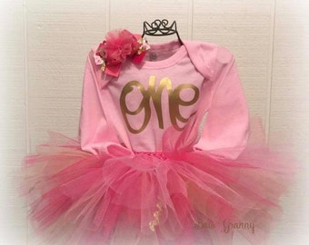 First Birthday Outfit, One Birthday, Birthday Tutu Outfit