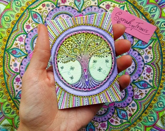 Mini Tree of Life Print - ACEO size