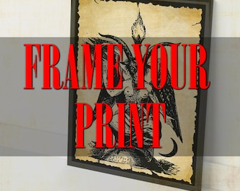 FRAME YOUR PRINT !