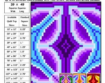 0147 Circle Gate Quilt Pattern