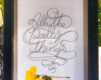 All The Pretty Things Wall Decor
